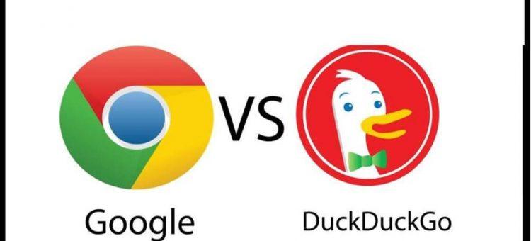 cuộc đối đầu giữa hai công cụ tìm kiếm google và duckduckgo