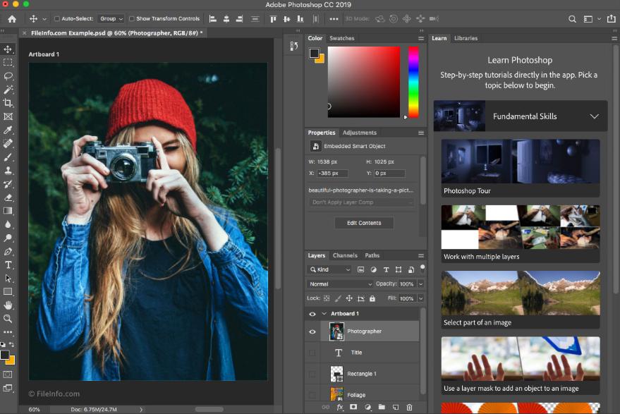 phần mềm chỉnh sửa ảnh Adobe Photoshop