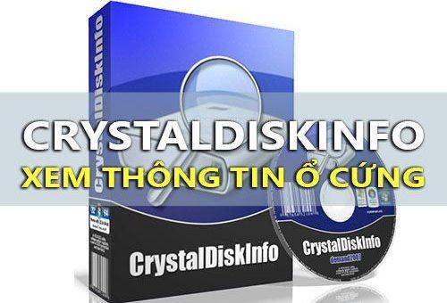 kiểm tra ổ cứng crystaldiskinfo